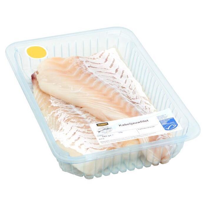 Jumbo Verse Vis Vismarkt Kabeljauwfilet 580g (580g)