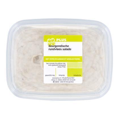 Rundvlees salade bourgondisch (150g)