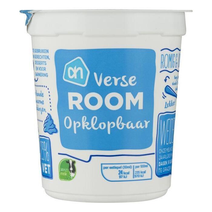 Verse room opklopbaar (200ml)