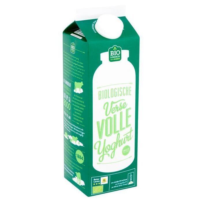 Jumbo Biologische Verse Volle Yoghurt 1L (1L)