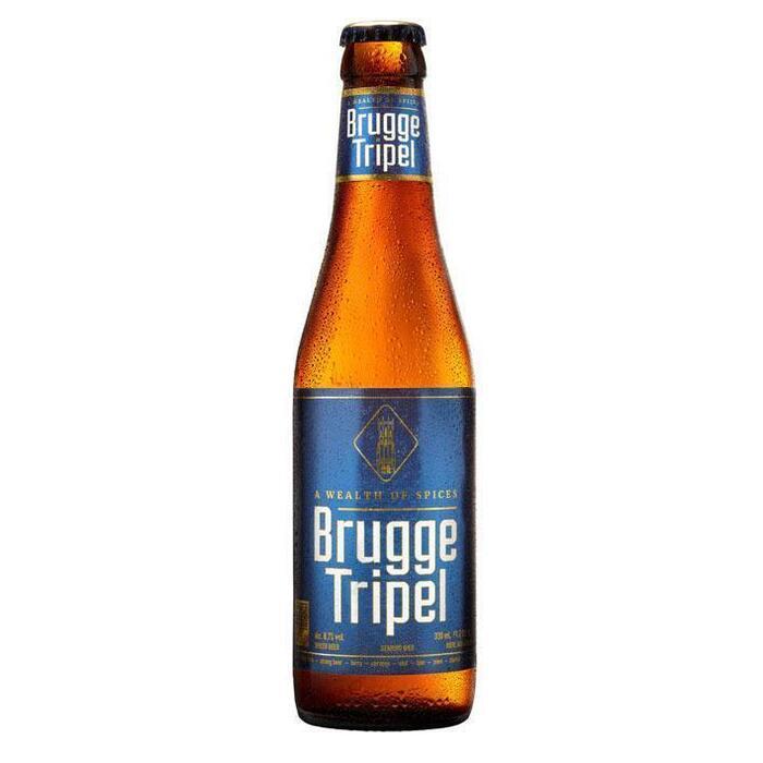 Brugge Tripel fles speciaal bier 8.7% (33cl)