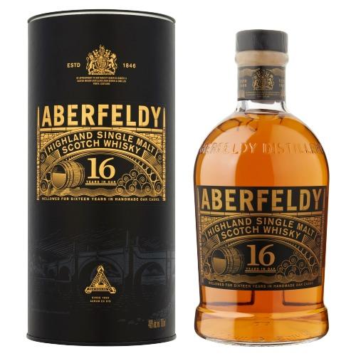 Aberfeldy Single Malt Scotch Whisky 16 years 70cl 40% (0.7L)