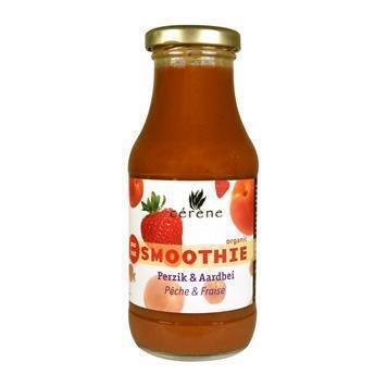 Smoothie perzik-aardbei (250ml)