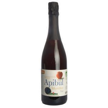 Apibul' myrtilles (bosbes) (alcoholvrij) (0.75L)