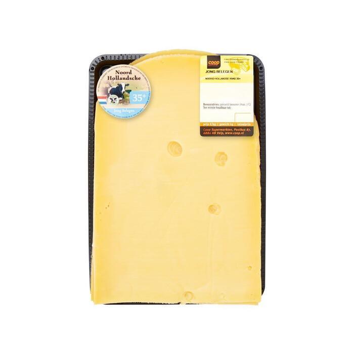 Noord-Hollandsche Jong belegen 35+ kaas gesneden (180g)