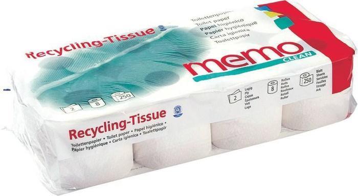 Toiletpapier 2-laags