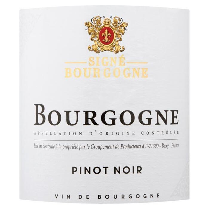 Signé Bourgogne Pinot Noir 750ml (0.75L)