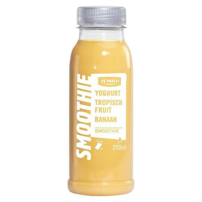 Jumbo Smoothie Yoghurt Tropisch Fruit Banaan 250ml (250ml)