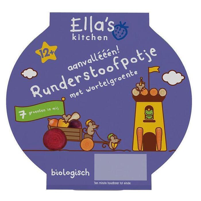Ella's Kitchen Runderstoofpotje 12+ mnd (200g)