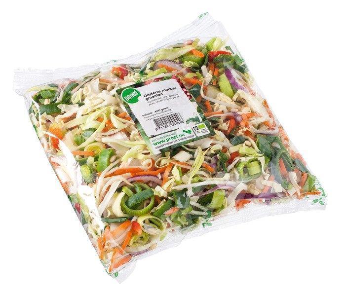 Oosterse roerbak groenten (bak, 400g)