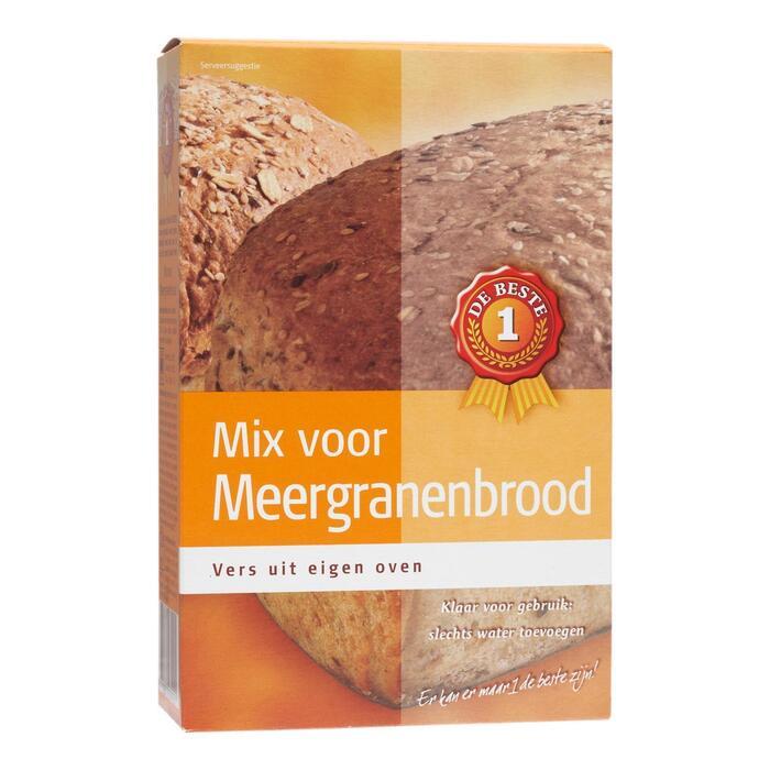 Broodmix meergranen (450g)