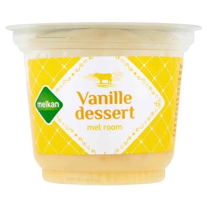 Vanilledessert met room (200g)