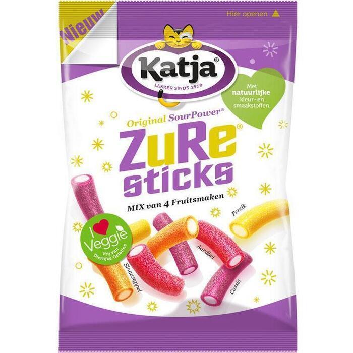Katja Zure Sticks 275 gram zak (275g)