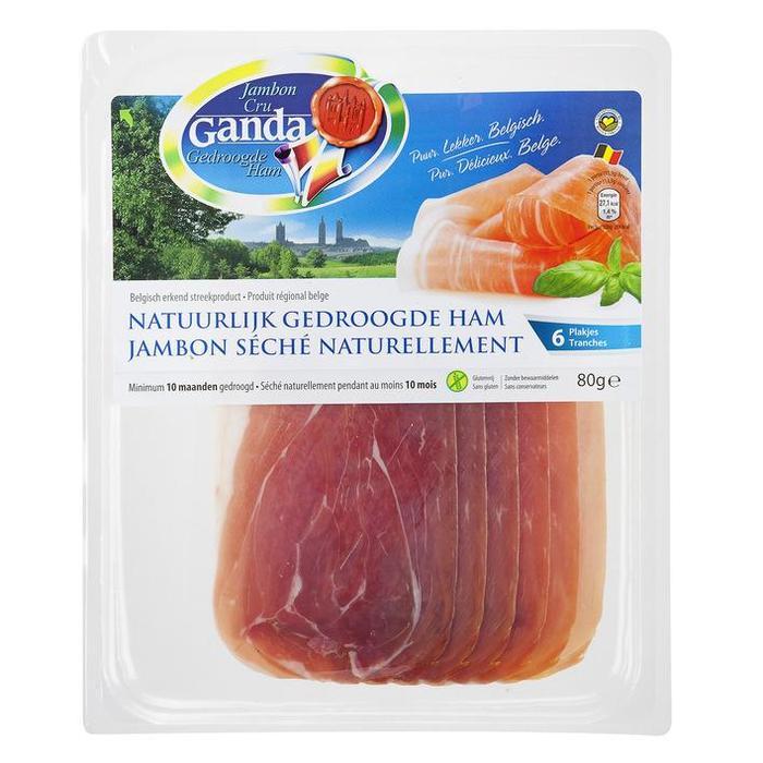 Ganda Natuurlijk gedroogde ham (80g)