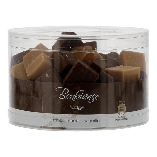 BONBIANCE FUDGE  CHOCOLADE&VANILLE