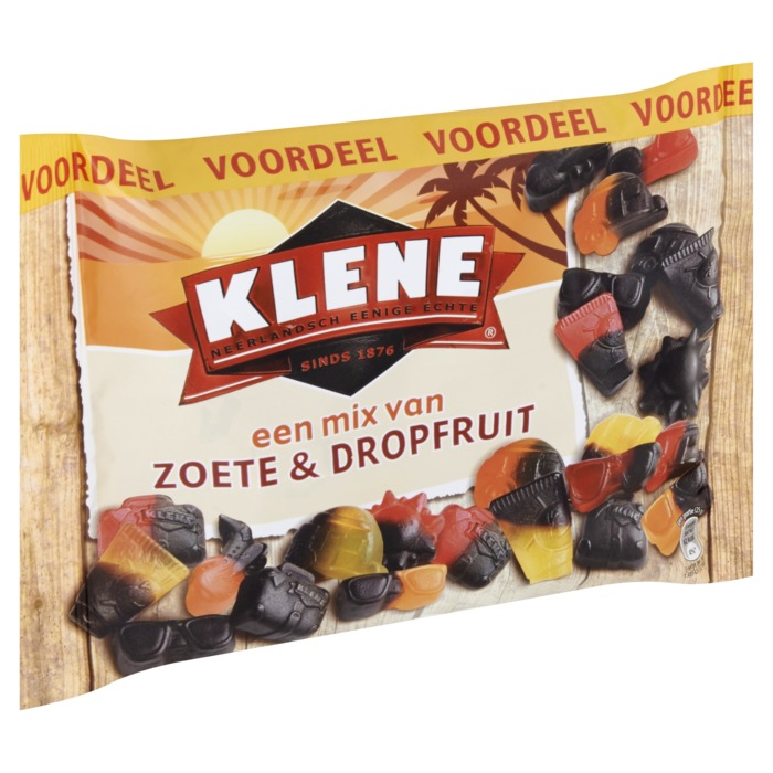 Klene Zoete Vakantiemix Drop 410G Zak (410g)