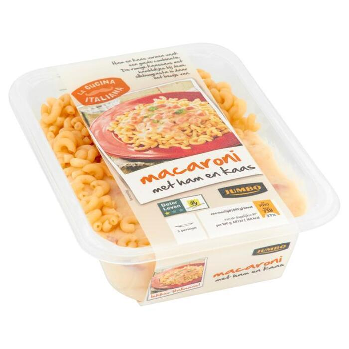 Jumbo Macaroni met Ham en Kaas 450g (450g)