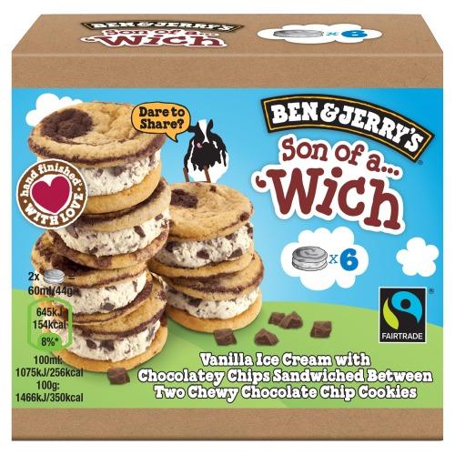 Ben & Jerry's Ijs Met Biscuit Son of a 'Wich 30 ml (30ml)