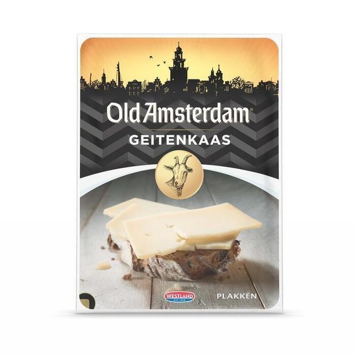 Old Amsterdam Geitenkaas 50+ plakken (4 × 100g)