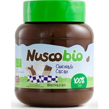 Biologische chocoladepasta puur (400g)