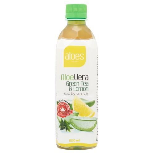 AloeVera Green Tea & Lemon (0.5L)