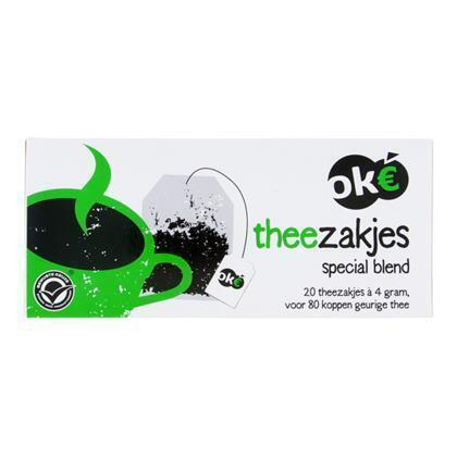 Theezakjes meer kops (80g)