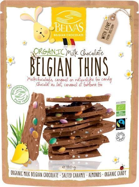 Belgian thins melk (120g)