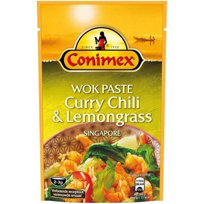 Wok Paste Curry Lemongrass & Chili (130g)