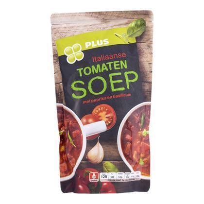 Italiaanse tomatensoep met basilicum (zak, 0.57L)