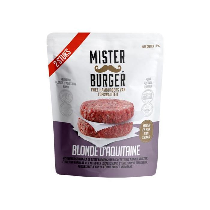 Mister Burger Blonde d'Aquitaine 2 x 125g (2 × 125g)