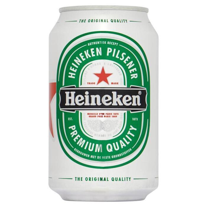 Heineken Premium Pilsener Blik 6 x 33cl (6 × 33cl)