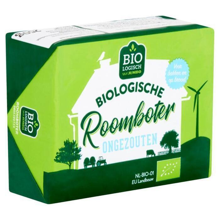 Roomboter ongezouten (pak, 250g)