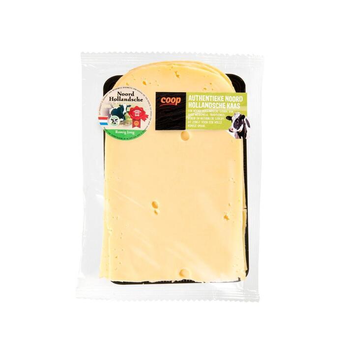 Noord-Hollandsche Romige jonge 35+ kaas gesneden (180g)