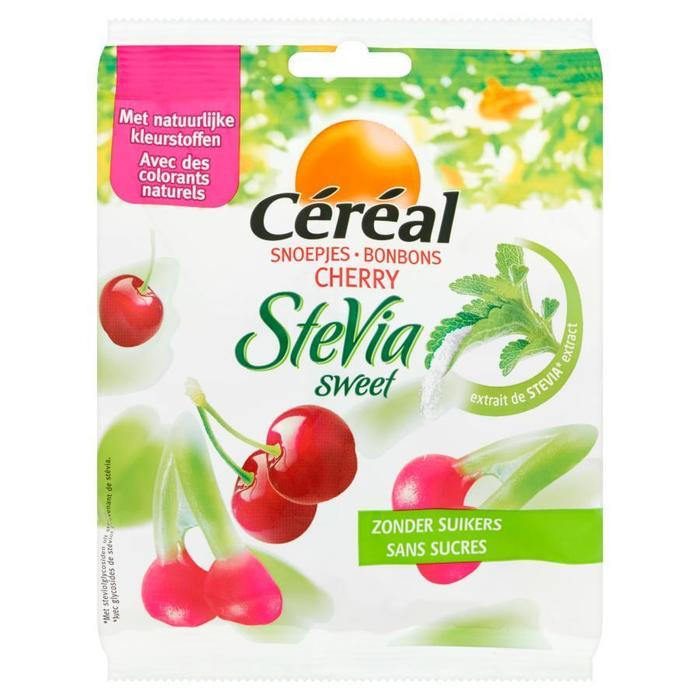 Cereal Snoepjes Cherry Stevia Sweet 120 g (120g)