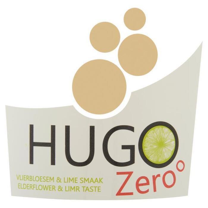Hugo Zero Vlierbloesem & Lime Smaak 75 cl (rol, 75 × 0.75L)