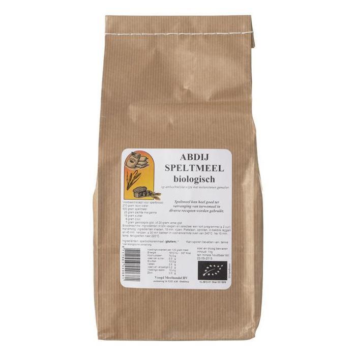 Abdij Speltmeel biologisch (1kg)