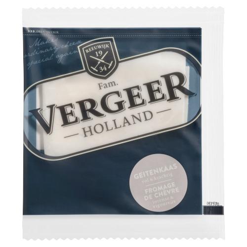 Vergeer Holland Kaas 50+ Plakken Geitenkaas 30g (30g)