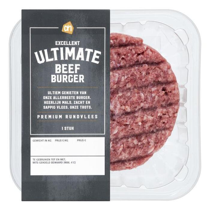 AH Excellent Ultimate beef burger