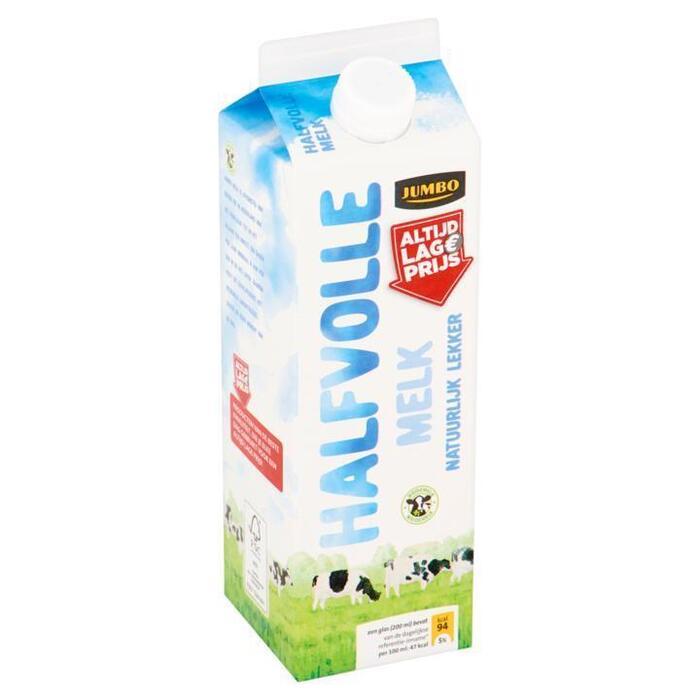 Jumbo Halfvolle Melk 1L (1L)
