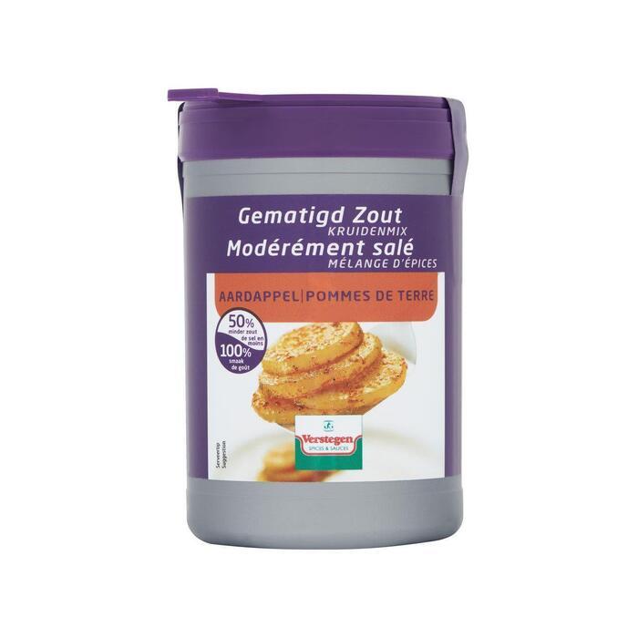 Verstegen Mix voor aardappelen (gematigd zout) (70g)