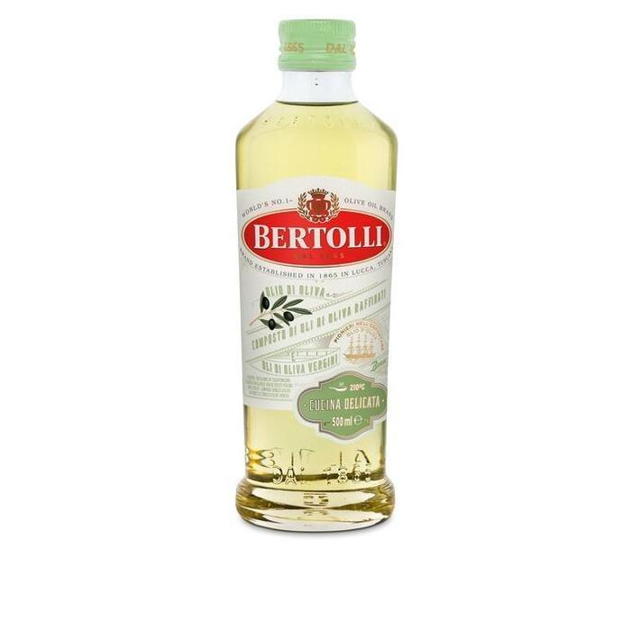 Olijfolie delicata (glazen fles, 0.5L)