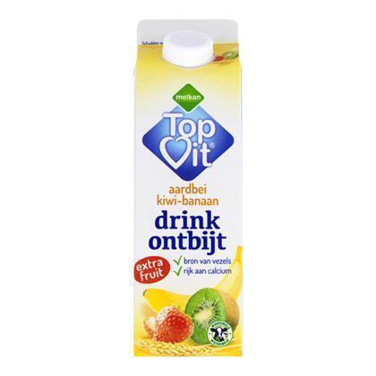 Drinkontbijt fruit aardbei-kiwi-banaan (0.5L)