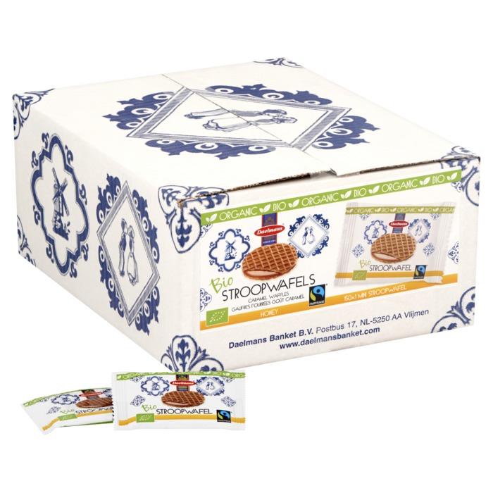 Bio Fairtrade Mini Stroopwafels (8g)