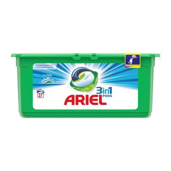 Ariel Excel Tabs Kleur & Stijl Wasmiddel Capsules 13 Wasbeurten (Stuk, 13 × 27.8g)