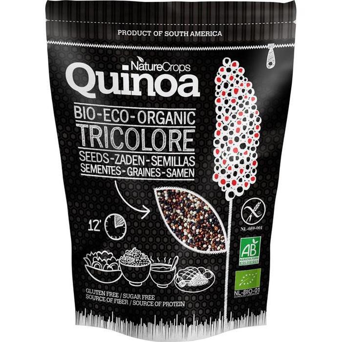 NatureCrops BIO Quinoa Tricolore Zaden 300gr (300g)