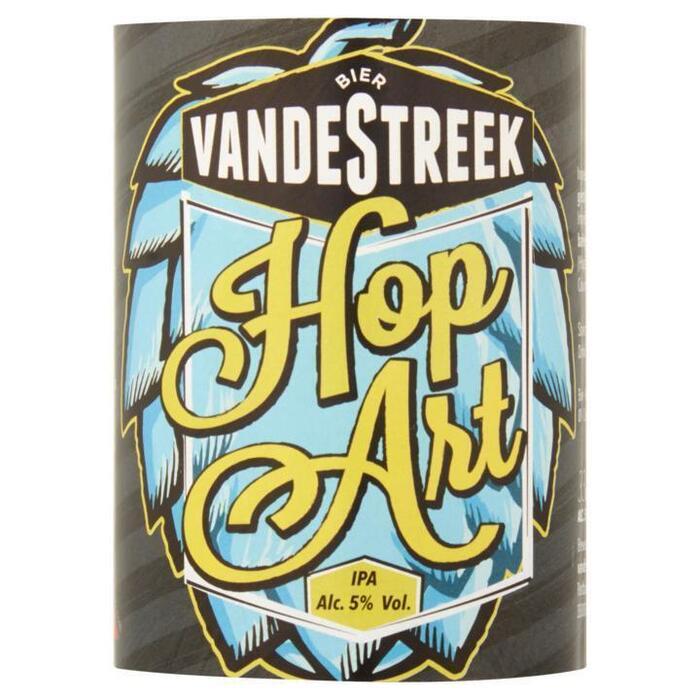 vandeStreek Bier Hop Art Fles 33cl (rol, 33 × 33cl)