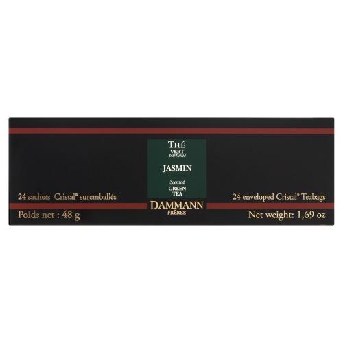 Dammann Jasmin Scented Green Tea 24 Theezakjes 48 GRM Doos (24 × 48g)