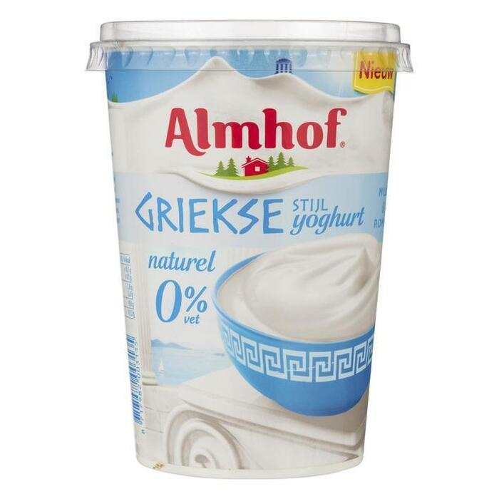 Yoghurt Griekse stijl 0% (450g)