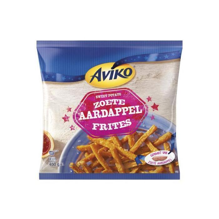 Zoete Aardappelfrites (zak, 450g)