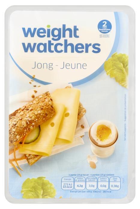 Weight Watchers Jong plakken 30+ (6 × 150g)